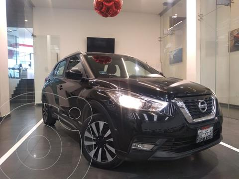 Nissan Kicks Advance  usado (2017) color Negro precio $240,000