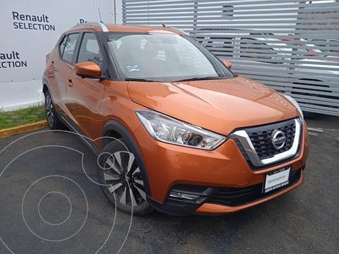 Nissan Kicks Exclusive Aut usado (2018) color Naranja Metalico precio $298,000