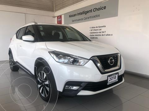 Nissan Kicks Advance  usado (2018) color Blanco precio $243,000