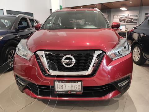Nissan Kicks Exclusive Aut usado (2020) color Rojo precio $385,000