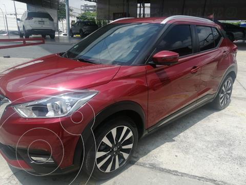 Nissan Kicks Exclusive Aut usado (2020) color Rojo precio $380,000