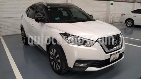 Nissan Kicks Exclusive Aut usado (2018) color Blanco precio $299,000