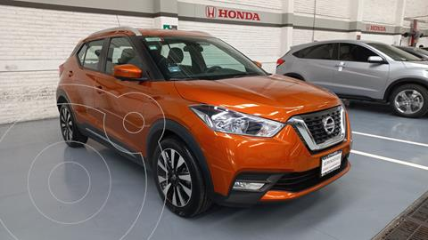 Nissan Kicks Exclusive Aut usado (2020) color Naranja precio $397,000