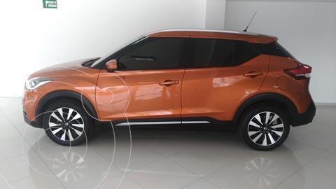 Nissan Kicks Exclusive Aut usado (2018) color Naranja precio $280,000