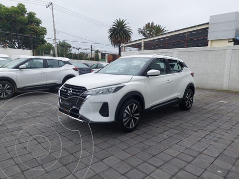 Nissan Kicks Advance  usado (2021) color Blanco precio $340,000