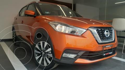 Nissan Kicks Exclusive Aut usado (2020) color Naranja precio $359,800