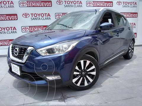 Nissan Kicks Exclusive Aut usado (2019) color Azul precio $340,000