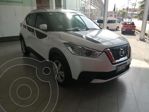 Nissan Kicks 5 PTS SENSE, 16L, TM5, A/AC, VE DEL, R-16 usado (2017) color Blanco precio $250,000