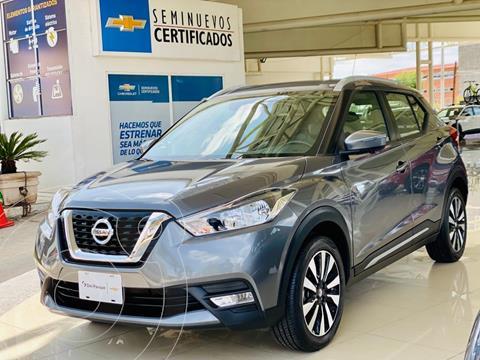 Nissan Kicks Exclusive Aut usado (2020) color Gris Oxford precio $375,000