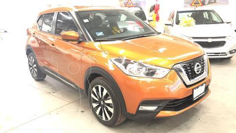 Nissan Kicks Exclusive Aut usado (2020) color Naranja Metalico financiado en mensualidades(enganche $91,820 mensualidades desde $7,752)