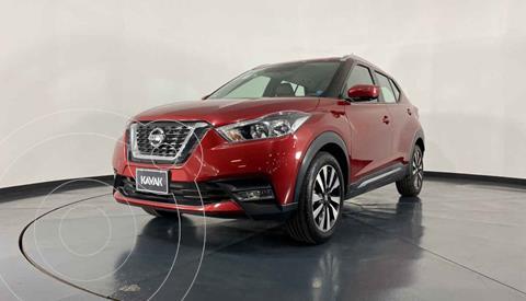 Nissan Kicks Bitono Aut usado (2017) color Rojo precio $304,999