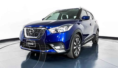 Nissan Kicks Advance Aut usado (2017) color Azul precio $267,999