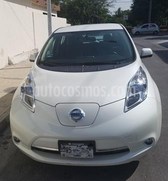 Nissan Leaf 24 kW usado (2015) color Blanco precio $270,000