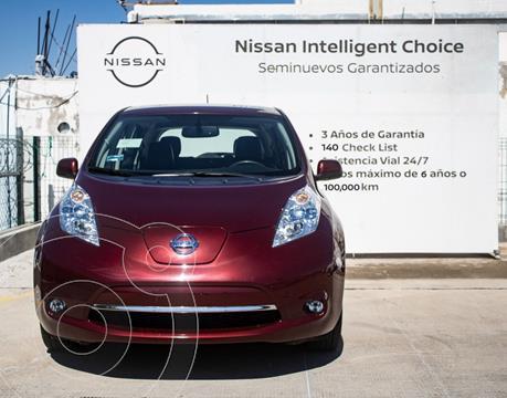 Nissan Leaf 24 kW usado (2017) color Rojo precio $309,000