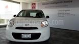 Foto venta Auto usado Nissan March 5p Active L4/1.6 Man A/A (2017) color Blanco precio $125,000