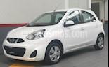 Foto venta Auto usado Nissan March 5p Active L4/1.6 Man A/A (2018) color Blanco precio $155,000