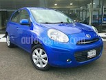 Foto venta Auto usado Nissan March 5p Advance L4/1.6 Aut (2013) color Azul precio $115,000