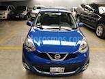 Foto venta Auto usado Nissan March 5p Advance L4/1.6 Aut (2014) color Azul precio $130,000