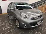 Foto venta Auto usado Nissan March 5p Advance L4/1.6 Man (2015) color Gris precio $135,500