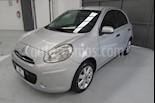 Foto venta Auto usado Nissan March 5p Advance L4/1.6 Man (2012) color Plata precio $94,900