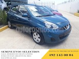 Foto venta Auto usado Nissan March 5p Sense L4/1.6 Aut (2018) color Azul precio $168,999