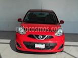 Foto venta Auto usado Nissan March 5p Sense L4/1.6 Aut (2015) color Rojo precio $148,000