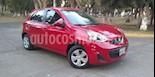 Foto venta Auto usado Nissan March 5p Sense L4/1.6 Man (2015) color Rojo precio $129,000