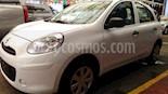 Foto venta Auto usado Nissan March Active Aire Ac (2019) color Blanco precio $145,800