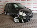 Foto venta Auto usado Nissan March Advance Aut (2016) color Negro precio $155,000
