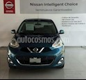 Foto venta Auto Seminuevo Nissan March Advance Aut (2017) color Azul precio $175,000