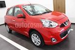 Foto venta Auto usado Nissan March Advance Aut (2017) color Rojo precio $185,000
