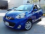 Foto venta Auto usado Nissan March Advance NAVI Aut color Azul Electrico precio $205,000