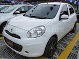 Foto venta Carro usado Nissan March Advance (2017) color Blanco precio $28.900.000