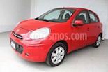 Foto venta Auto usado Nissan March Advance (2013) color Rojo precio $110,000