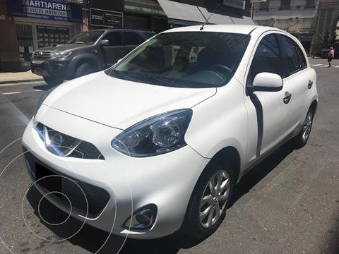 Nissan March Advance Media Tech usado (2015) color Blanco precio $1.049.000