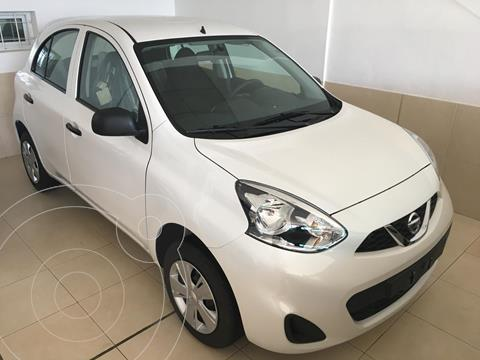 foto Nissan March Active usado (2017) color Blanco precio $1.200.000