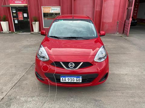 Nissan March Sense usado (2017) color Rojo precio $1.350.000