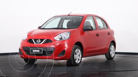 Nissan March Active usado (2018) color Rojo precio $1.280.000