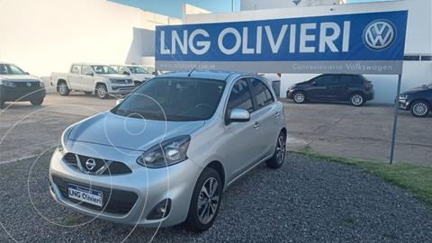 Nissan March Advance Media Tech Aut usado (2019) color Gris Plata  precio $1.400.000