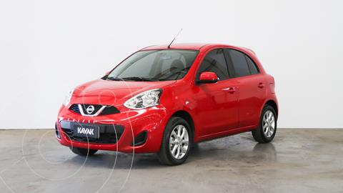 Nissan March Sense usado (2019) color Rojo precio $1.630.000