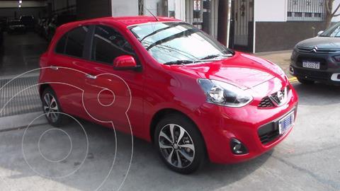 Nissan March Advance Media Tech Aut usado (2019) color Rojo precio $2.299.900