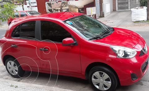 Nissan March Active usado (2018) color Rojo precio $1.440.000