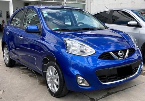Nissan March Advance Media Tech usado (2015) color Azul precio $1.195.000