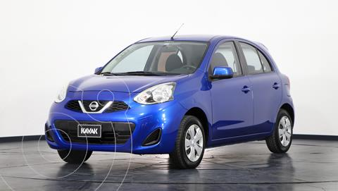 Nissan March Sense usado (2014) color Azul Electrico precio $1.050.000