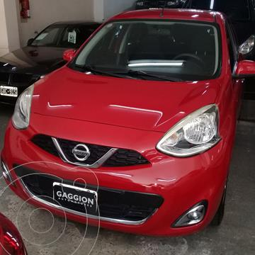 Nissan March Advance usado (2014) color Rojo precio $111