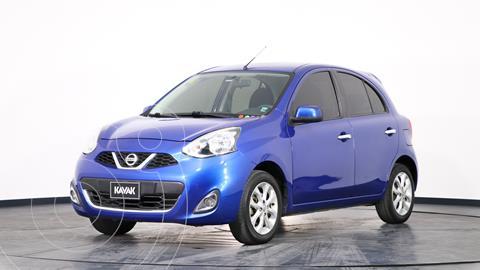 Nissan March Advance usado (2014) color Azul Electrico precio $1.390.000