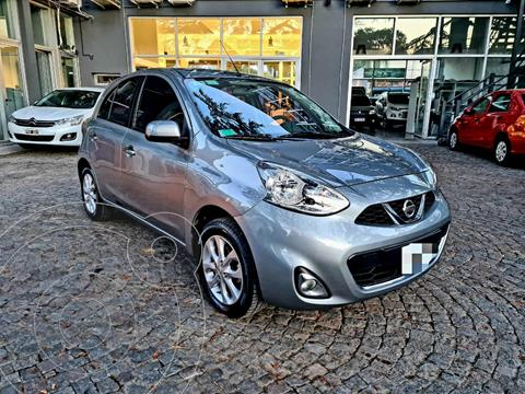 Nissan March Advance usado (2016) color Plata financiado en cuotas(anticipo $600.000)
