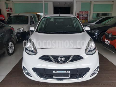 Nissan March Active usado (2014) color Blanco precio $995.000