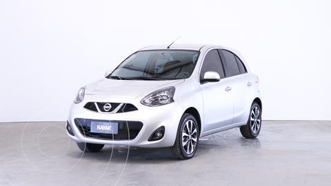 Nissan March Advance Media Tech usado (2019) color Gris Plata  precio $1.740.000