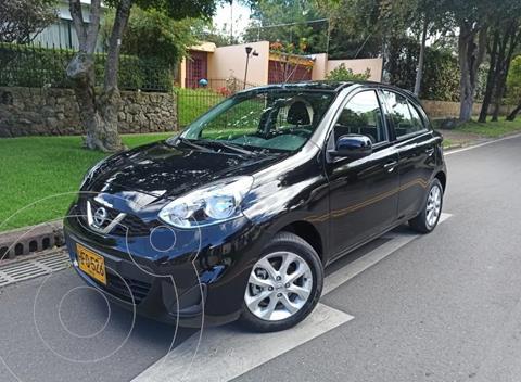 Nissan March Sense usado (2019) color Negro precio $41.900.000